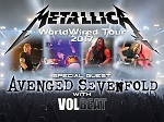 METALLICA in 'WorldWired' Tour