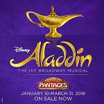 Disney's ALADDIN - Jan.10 - Mar.31