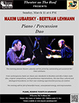 Maxim Lubarsky - Bertram Lehmann Piano/Percussion Duo